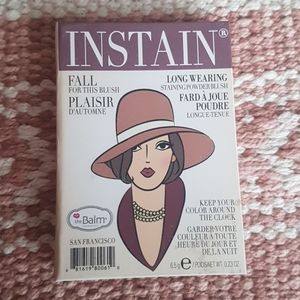 The Balm Cosmetics InStain Blush in Pinstripe